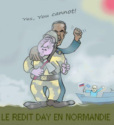 Hollande poutine obama op ration overwords en normandie les4verites - Journal en normandie ...
