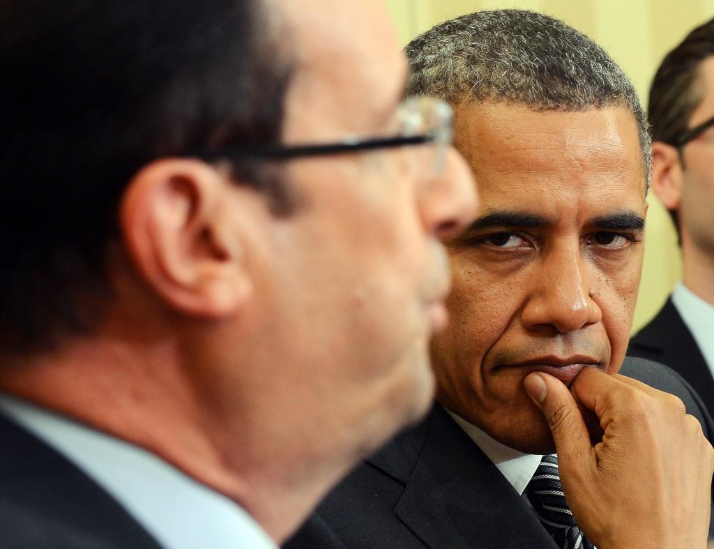 Obama Hollande DR