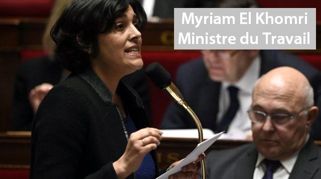 la-ministre-du-travail-myriam-el-khomri