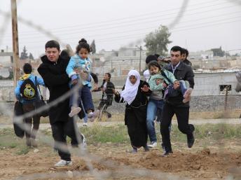 syrie refugiés